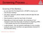 screening process6