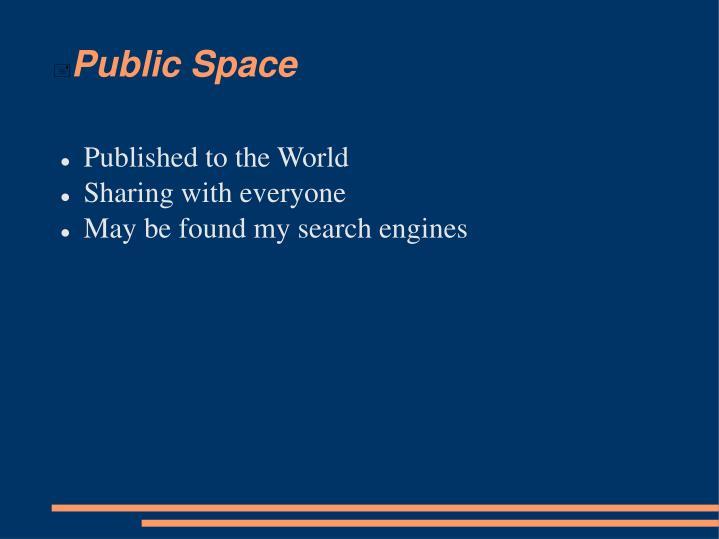 Public Space