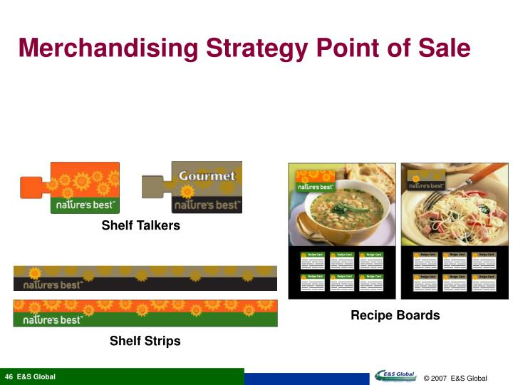 Merchandising Strategy Point of Sale