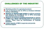 challenges of the industry1