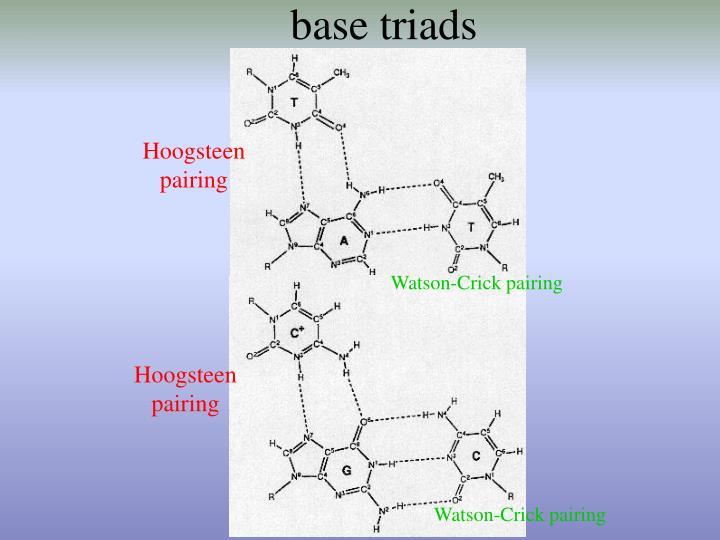 base triads