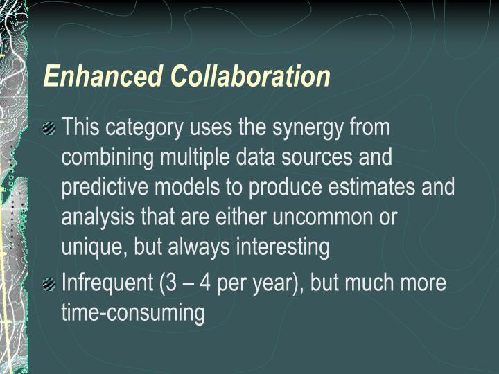 Enhanced Collaboration