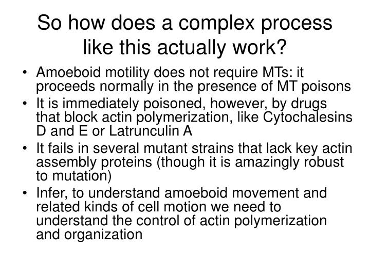 So how does a complex process like this actually work?