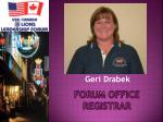 forum office registrar