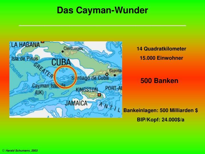 Das Cayman-Wunder