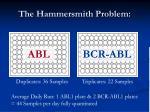 the hammersmith problem