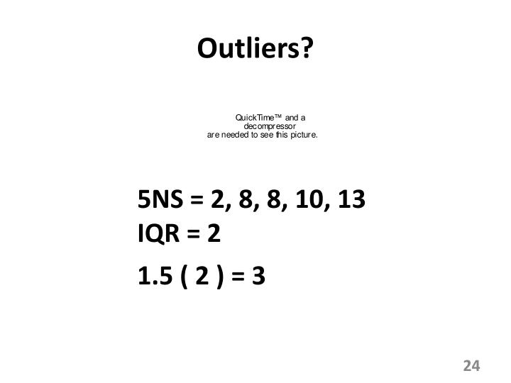 Outliers?