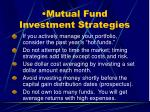 mutual fund investment strategies1