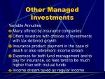 other managed investments2