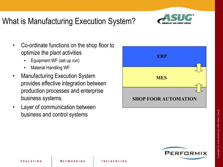 What is Manufacturing Execution System?
