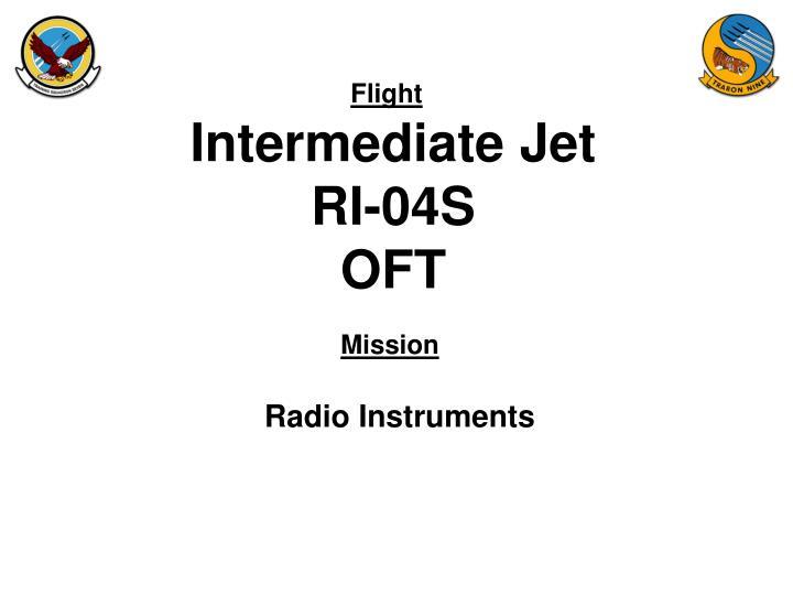 intermediate jet ri 04s oft n.