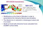mfs ogcm characteristics