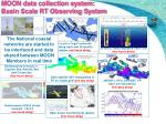 moon data collection system basin scale rt observing system