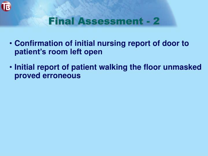 Final Assessment - 2