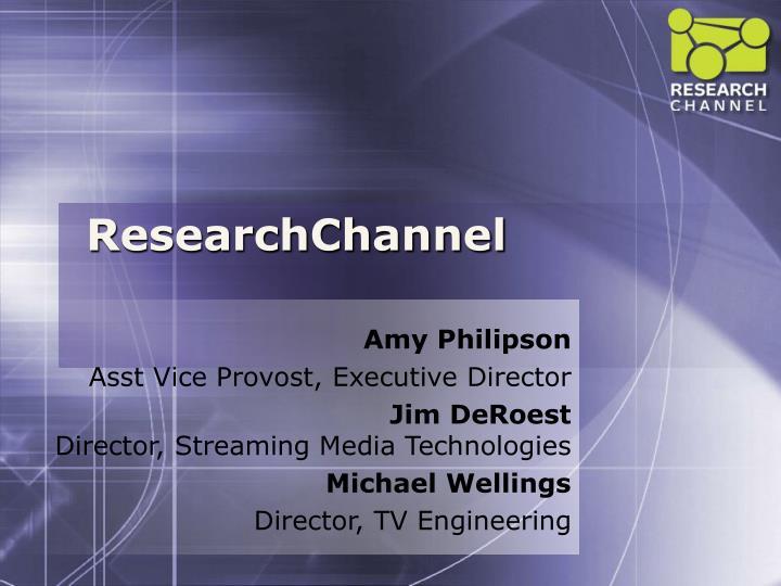 researchchannel