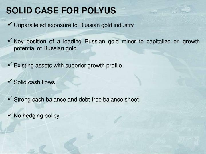 SOLID CASE FOR POLYUS