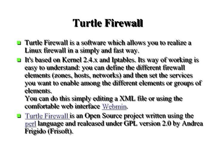Turtle Firewall