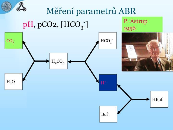 Měření parametrů ABR