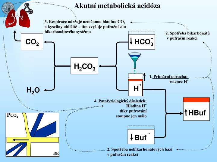 Akutní metabolická acidóza