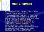 mmg e tumori