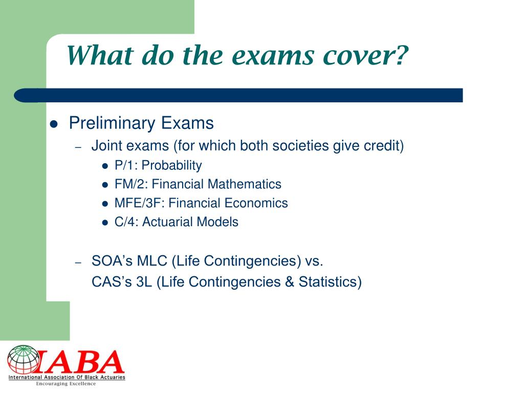 PPT - You Can Be an Actuary! PowerPoint Presentation - ID:3341184