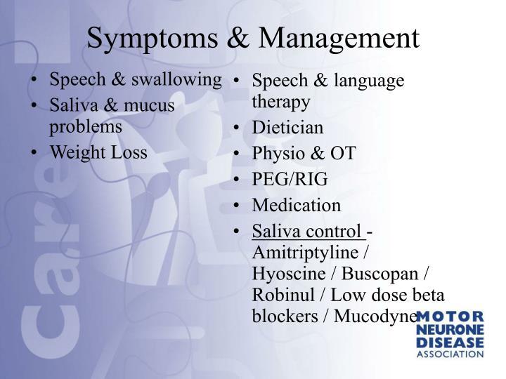 Speech & swallowing