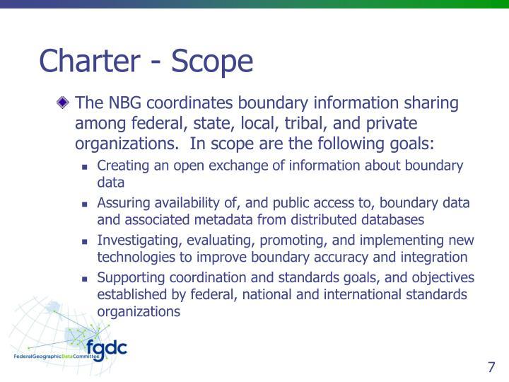 Charter - Scope