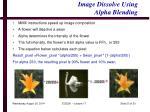 image dissolve using alpha blending1