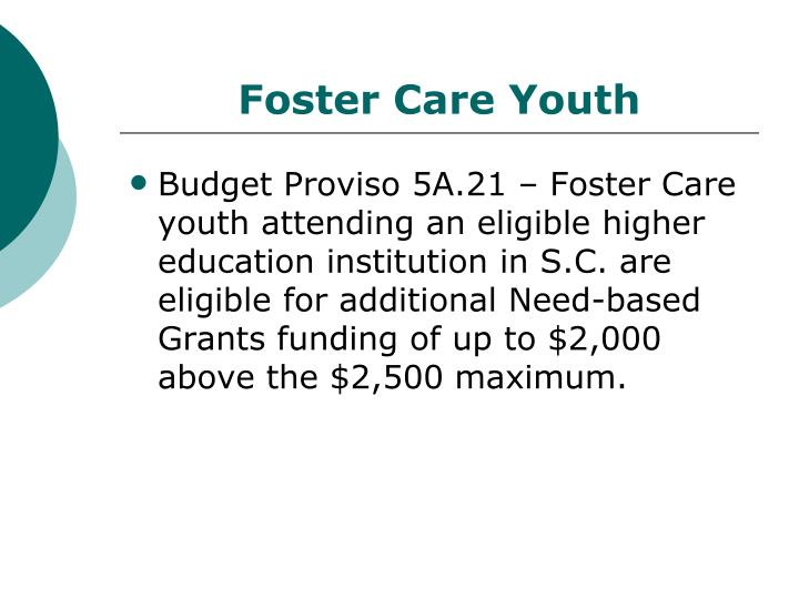 Foster care youth