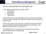 burst memory management1