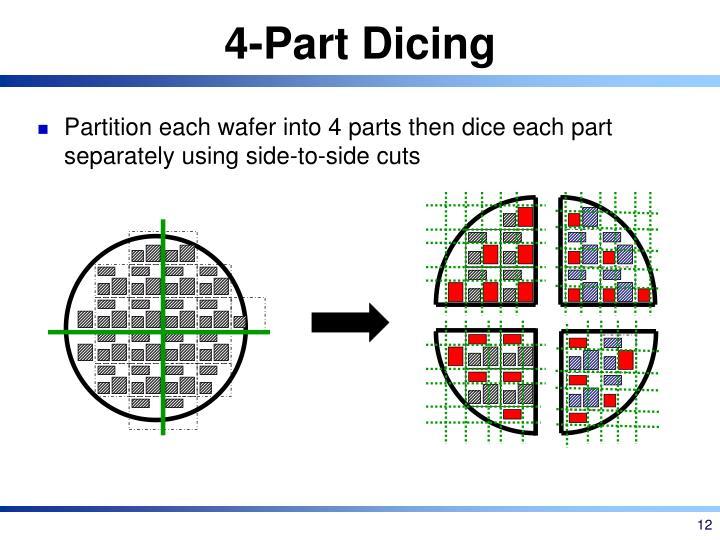 4-Part Dicing