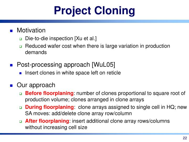 Project Cloning