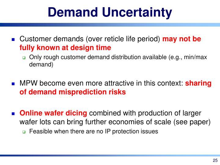 Demand Uncertainty