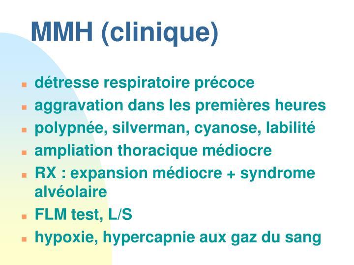 MMH (clinique)