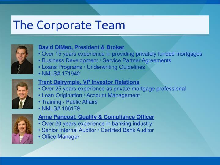 The Corporate Team