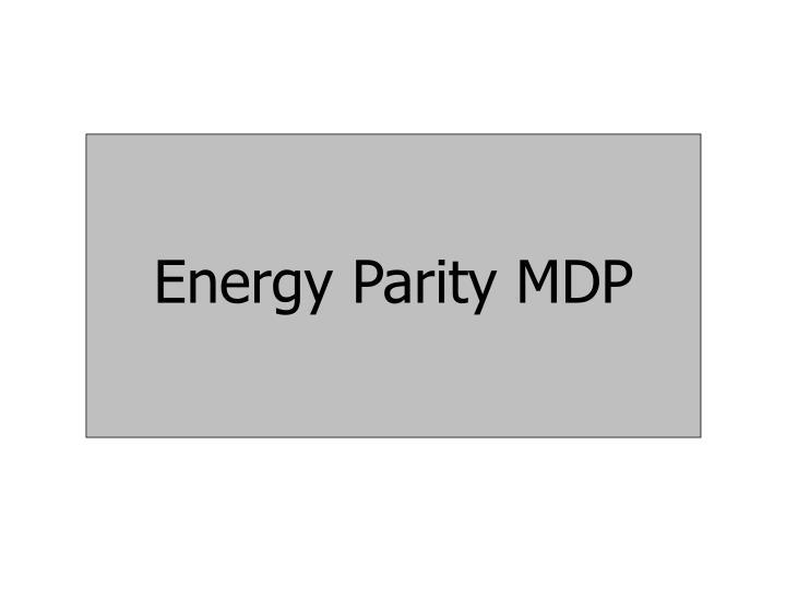 Energy Parity MDP