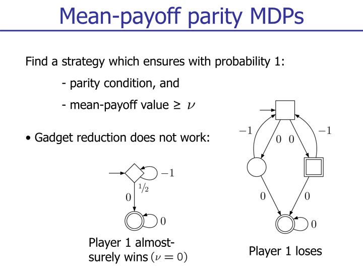 Mean-payoff parity MDPs