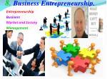 8 business entrepreneurship
