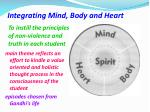 integrating mind body and heart