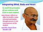 integrating mind body and heart1