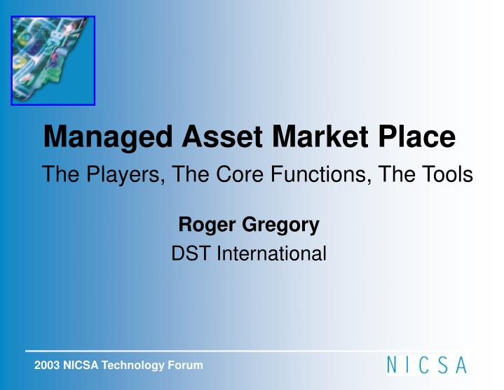 Managed Asset Market Place