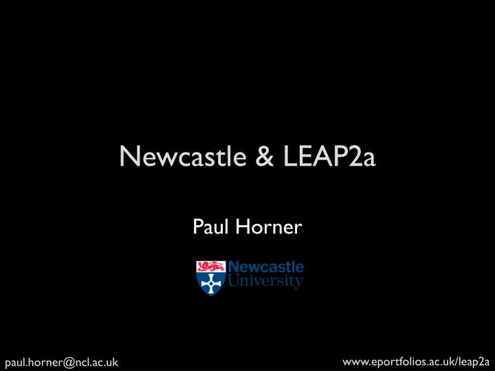 Newcastle leap2a
