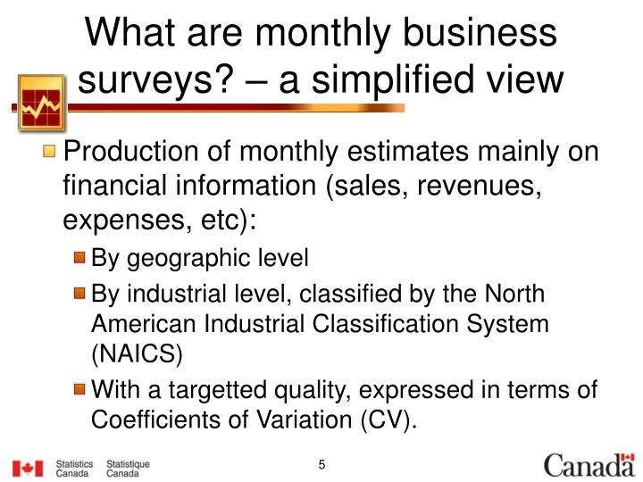 What are monthly business surveys? – a simplified view