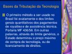 bases da tributa o da tecnologia10