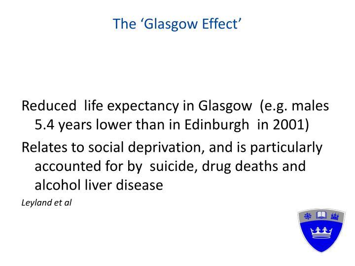 The 'Glasgow Effect'