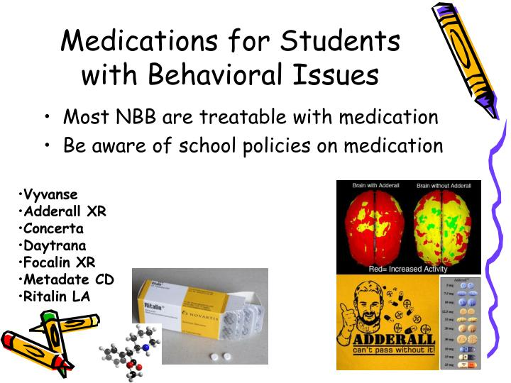 Medications for Students with Behavioral Issues