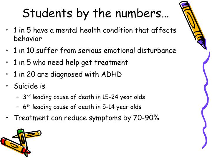 Students by the numbers…