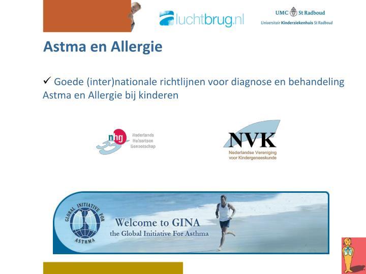 Astma en allergie1