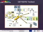 geysers testbed