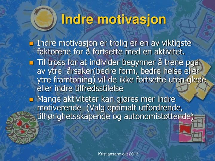 Indre motivasjon